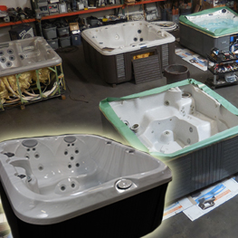 Used (Refurbished) Spas
